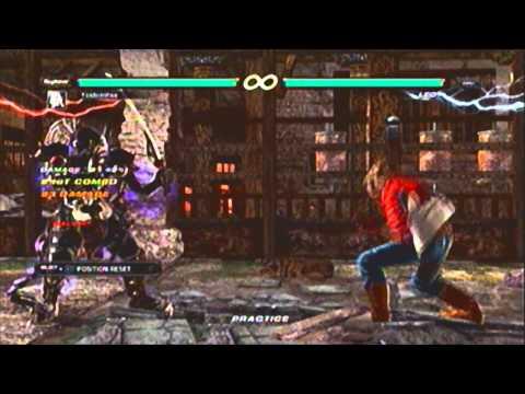 Tekken 6 Yoshimitsu Combo Video Diamond Cutter Youtube