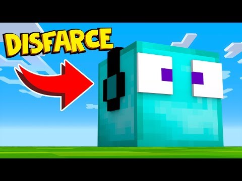 ESCONDE-ESCONDE COM DISFARCE DE BLOCOS DE DIAMANTE !! - Minecraft