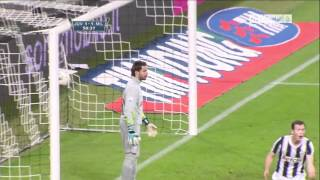 tor von djamal mesbah AC Milan gegen juventus turin/ djamal mesbah AC Milan vs juventus turin
