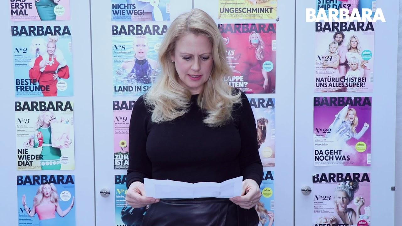 Barbara Schöneberger über Badewanne - YouTube