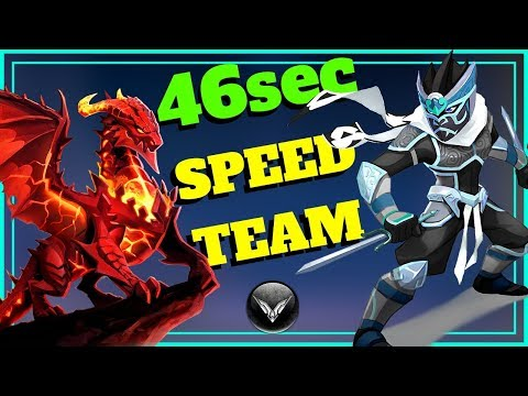 [MMEG] WRATH SPEED TEAM 46sec Might And Magic Elemental Guardians