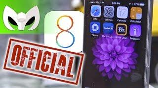 iOS 8 OFICIALMENTE LIBERADO! (Toda La Información)