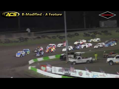 B-Modified/Stock Car Features - Adams County Speedway - 4/21/18
