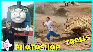 Hilarious Asian Photoshop Trolls Compilation