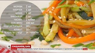 Кольорові спагетті з овочів - рецепти Сенічкіна
