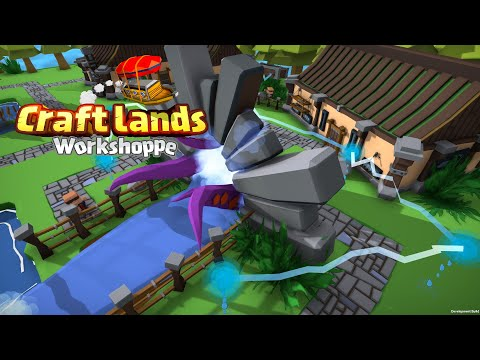 Craftlands Workshoppe - Official Launch Trailer (Out Now!)