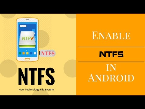 How To Enable NTFS In Android Phone | New Technology File System| TechFanciers