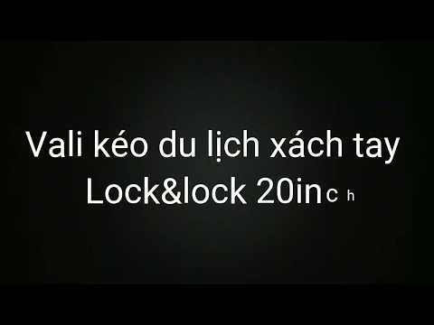 Vali kéo du lịch xách tay Lock&lock Travel Zone LTZ920BTSA 20inch [SanHangRe.net]