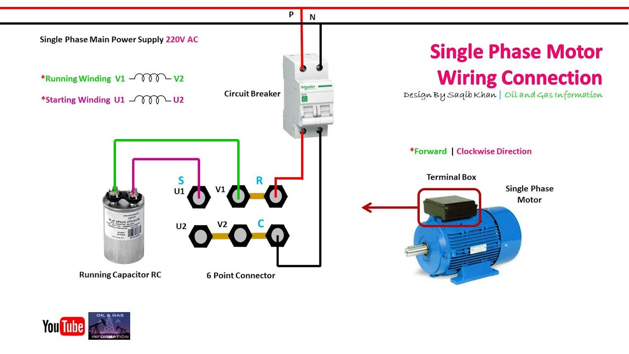 Capacitor Start Induction Run Motor Wiring Diagram from i.ytimg.com