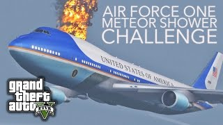 GTA V PC E21 - Air Force One Meteor Shower Challenge
