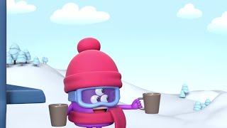 AstroLOLogy   Skiing Resort   Compilation   Videos For Kids  WildBrain