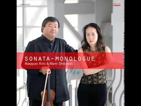 Masayuki Kino ,Mami Shikimori /SONATA - MONOLOGUE _Khachaturian Viorin Works_