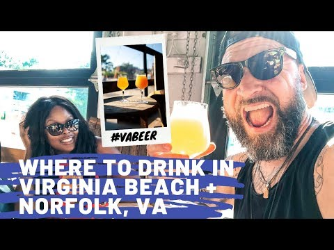 WHERE TO DRINK CRAFT BEER IN VIRGINIA BEACH + NORFOLK, VIRGINIA | Visit Virginia Vlog Part 3