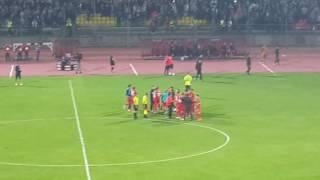 Енисей - ЦСКА (2:1). Финальный свисток. Видео с трибуны