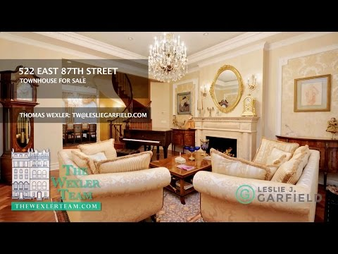 NYC TOWNHOUSE at 522 East 87th Street, Manhattan For Sale...