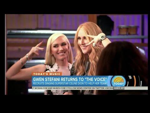 Gwen Stefani Brings On Celine Dion As The Voice Advisor