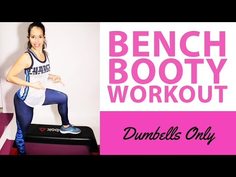Bench Step Booty Workout | Reebok Deck