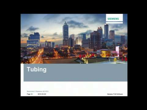 Advanced Piping and Tubing: Solid Edge University Session