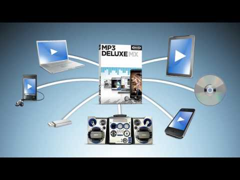 The MP3 software with powerful features - MAGIX MP3 deluxe MX (EN)