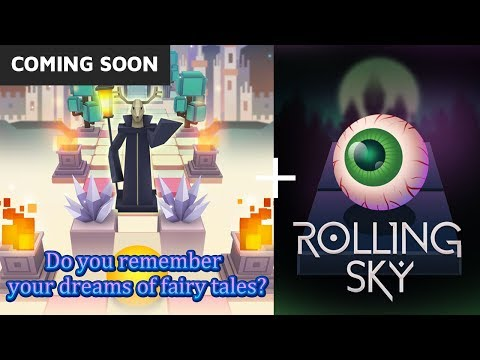 Rolling Sky Fairy Tale Coming Soon! + Eyeball Skin for halloween