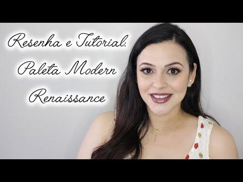 Resenha e Tutorial: Paleta Modern Renaissance - Anastasia Beverly Hills
