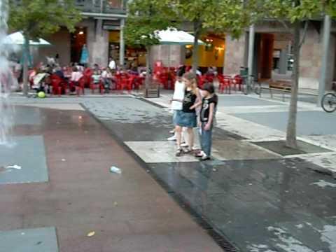 un dia de verano en Pamplona