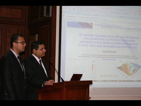 DR\ Sayed Hemeda - 3D SEISMIC HAZARD ANALYSIS, GEOTECHNICAL AND GEOPHYSICAL INVESTIGATIONS