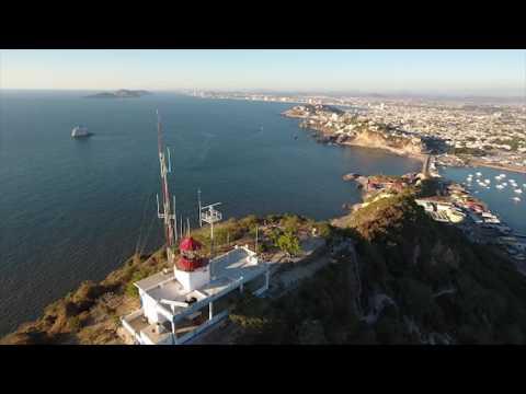 El Faro Lighthouse Tour - Mazatlan Mexico Drones