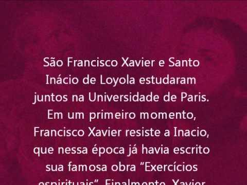 São Francisco Xavier E Santo Inácio De Loyola Mês Do Amigo Na