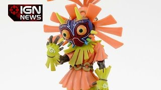 Nintendo Shows off The Majora's Mask Skull Kid Pre-Order Statue - IGN News