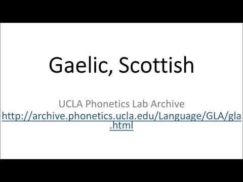 Gaelic, Scottish