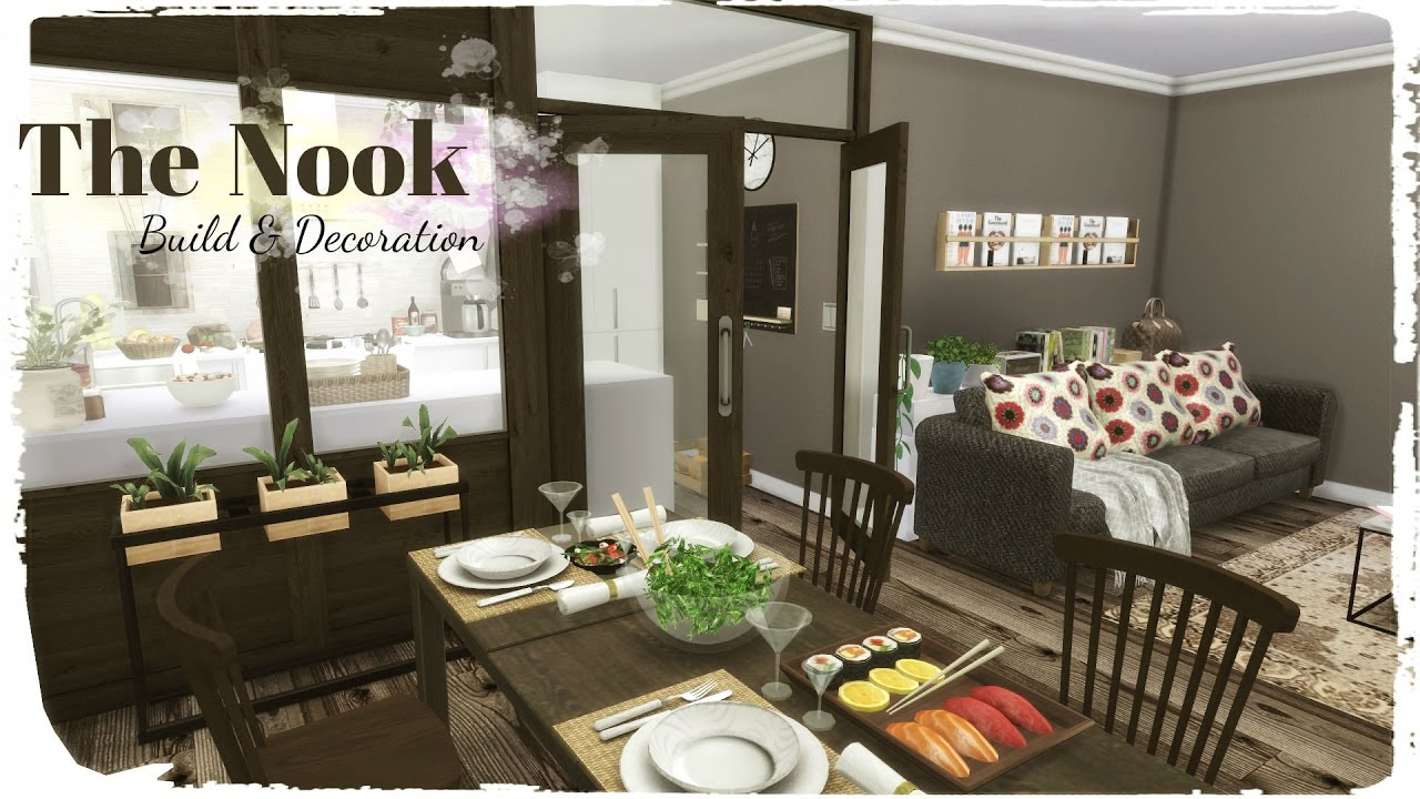 Sims 4 The Nook Build Amp Decoration For Download Cc