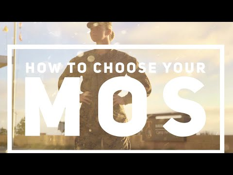 USMC How To: Choose Your MOS (Job)