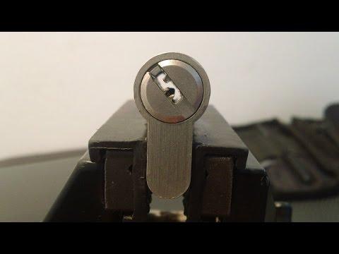Взлом отмычками Tesa T60  Lockpicking Tesa T60 ()