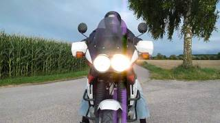 [HD] Second sound check on the road with my ´92 HONDA XRV 750 Africa Twin