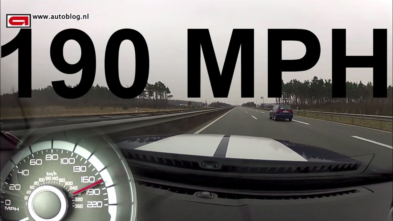 Ford mustang shelby gt500 top speed on the autobahn