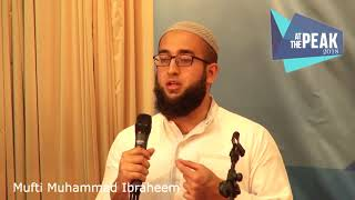 Mufti Muhammad Ibraheem at AtThePeak2018 Salvation