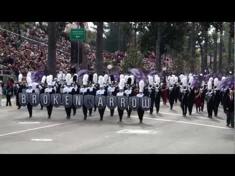 The Pride of Broken Arrow High School Marching Band - 2013 Pasadena Rose Parade