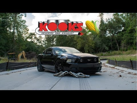 KOOKS HEADERS & OFF ROAD XPIPE MAKES A BADASS MUSTANG