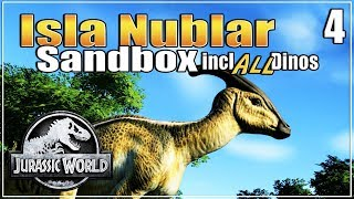 Let's build the Ultimate Dino Park   with ALL dinosaurs   Sandbox   Jurassic World Evolution   Ep. 4
