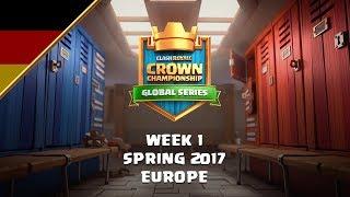 [DE] Clash Royale: Crown Championship Top 8 (EU, Woche 1) - Crown Championship thumbnail