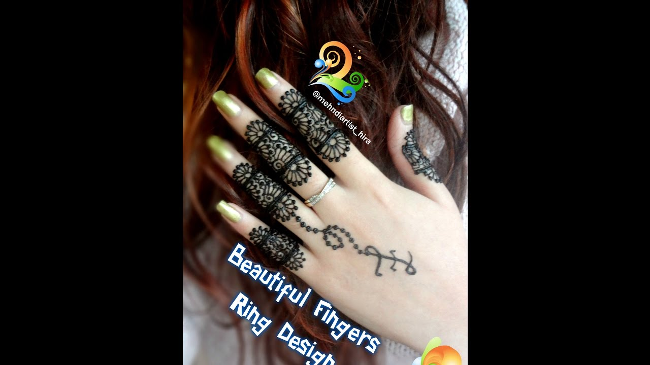 simple henna designs for fingers. how to apply easy simple henna mehndi designs for fingers tutorial eidweddingsdiwali youtube e