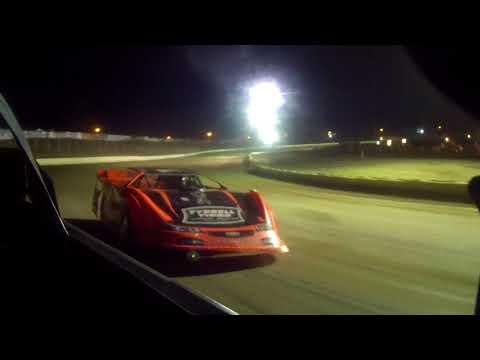 8/18/2017 Black Hills Speedway heat race in car (rear)