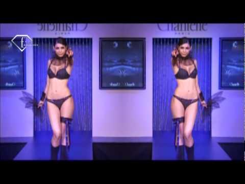 fashiontv   FTV.com - CHANTELLE LINGERIE 2. PARIS FALL WINTER 09/10