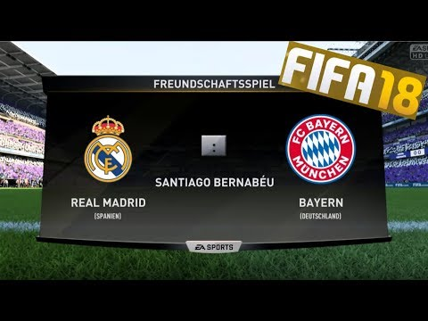 FIFA 18 | ICON EDITION | FULL GAMEPLAY | REAL MADRID - FC BAYERN MUNICH