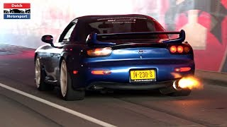 Mazda RX7 Compilation 2019 - Turbo Rotary Sounds!