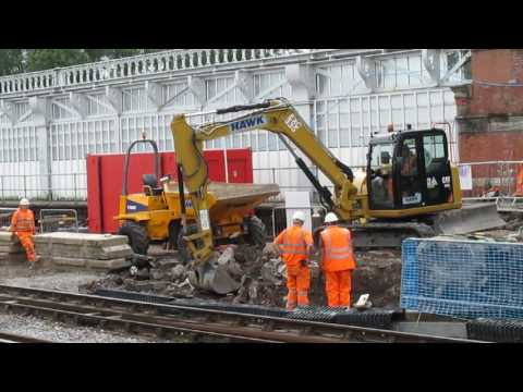 Engineering Works at Shrewsbury - July 2016