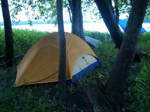 Marshall-Fish-and-Wildlife Area Canoe Camping Part 1