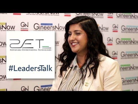 #LeadersTalk with the COO of Sustainable Environmental Technologies, Amrita Ramona Shabla