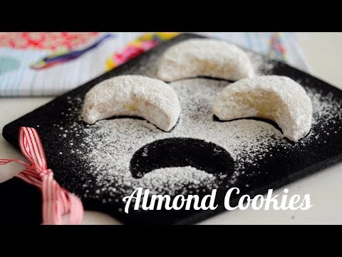 Tasty Almond Crescent Cookies